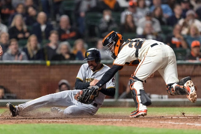 San Francisco Giants vs. Pittsburgh Pirates - 8/10/18 MLB Pick, Odds, and Prediction
