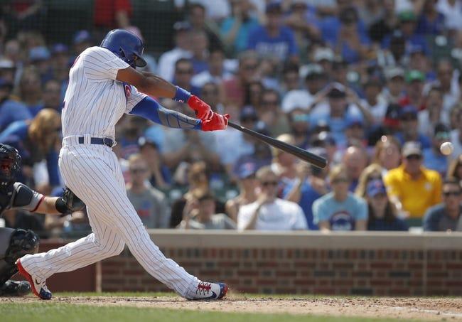 Chicago Cubs vs. Washington Nationals - 8/11/18 MLB Pick, Odds, and Prediction
