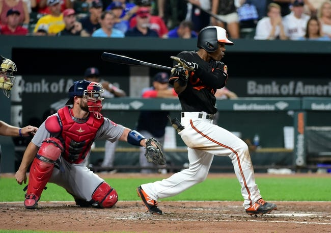 Baltimore Orioles vs. Boston Red Sox Game One - 8/11/18 MLB Pick, Odds, and Prediction
