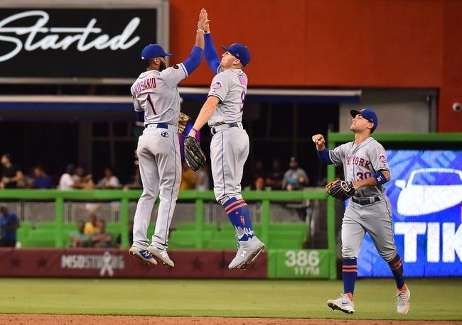 Miami Marlins vs. New York Mets - 8/11/18 MLB Pick, Odds, and Prediction