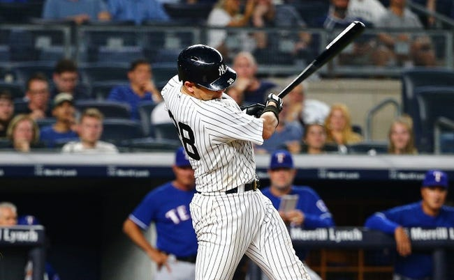 New York Yankees vs. Texas Rangers - 8/11/18 MLB Pick, Odds, and Prediction