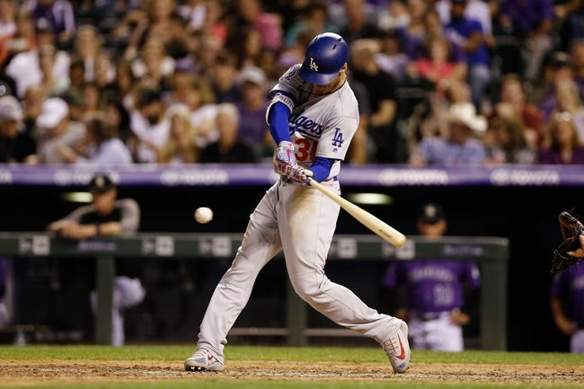 Colorado Rockies vs. Los Angeles Dodgers - 8/11/18 MLB Pick, Odds, and Prediction