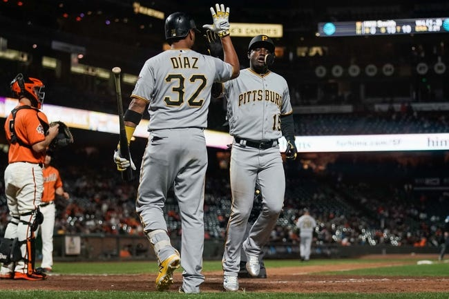 San Francisco Giants vs. Pittsburgh Pirates - 8/12/18 MLB Pick, Odds, and Prediction