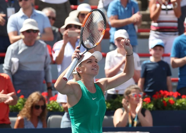 Simona Halep vs Sloane Stephens 2018 Rogers Cup Tennis Pick, Preview, Odds, Prediction