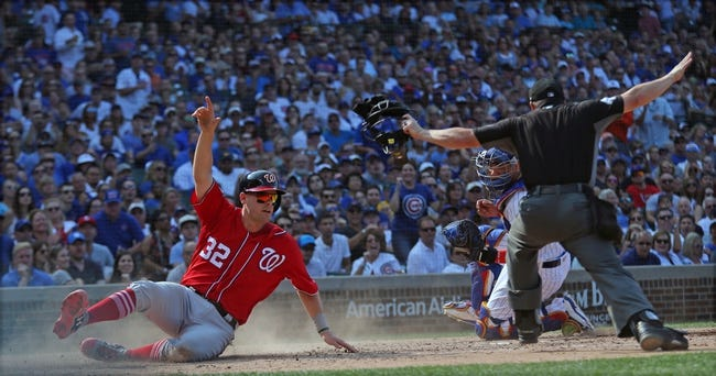 MLB | Washington Nationals (60-57) at Chicago Cubs (67-49)