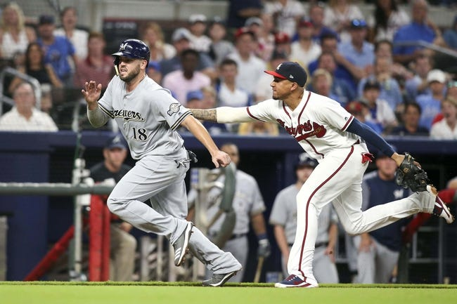 Atlanta Braves vs. Milwaukee Brewers - 8/12/18 MLB Pick, Odds, and Prediction