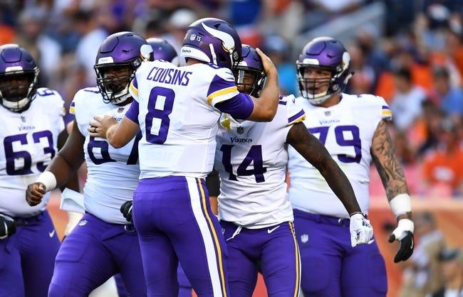 Minnesota Vikings vs. Jacksonville Jaguars - 8/18/18 NFL Pick, Odds, and Prediction