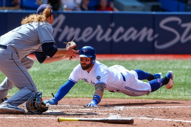 Toronto Blue Jays vs. Tampa Bay Rays - 9/3/18 MLB Pick, Odds, and Prediction
