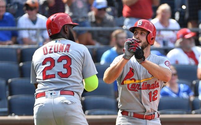 St. Louis Cardinals vs. Washington Nationals - 8/13/18 MLB Pick, Odds, and Prediction