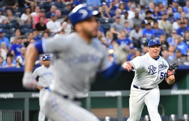 MLB | Toronto Blue Jays (53-65) at Kansas City Royals (36-82)