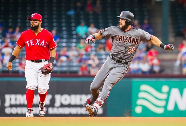 Texas Rangers vs. Arizona Diamondbacks - 8/14/18 MLB Pick, Odds, and Prediction
