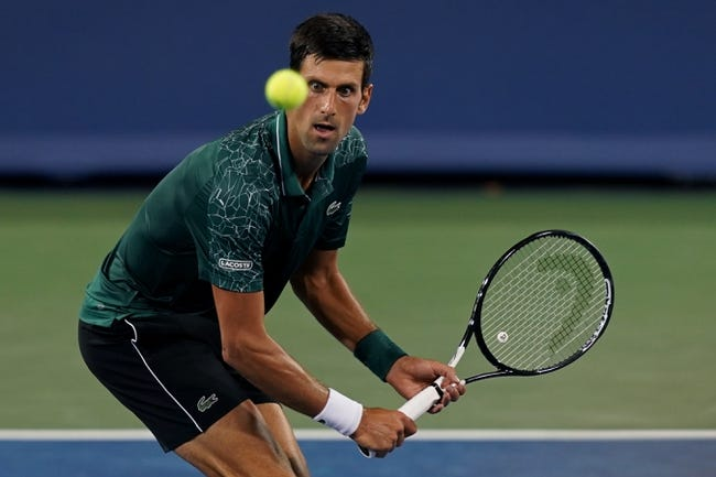 Novak Djokovic vs Adrian Mannarino 2018 Cincinnati Masters Tennis Pick, Preview, Odds, Predictions