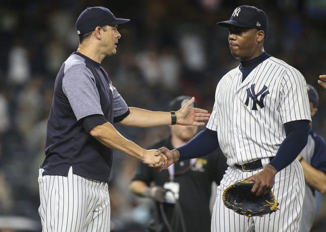 MLB | Tampa Bay Rays (60-58) at New York Yankees (74-44)