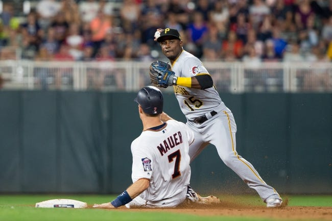 Minnesota Twins vs. Pittsburgh Pirates - 8/15/18 MLB Pick, Odds, and Prediction