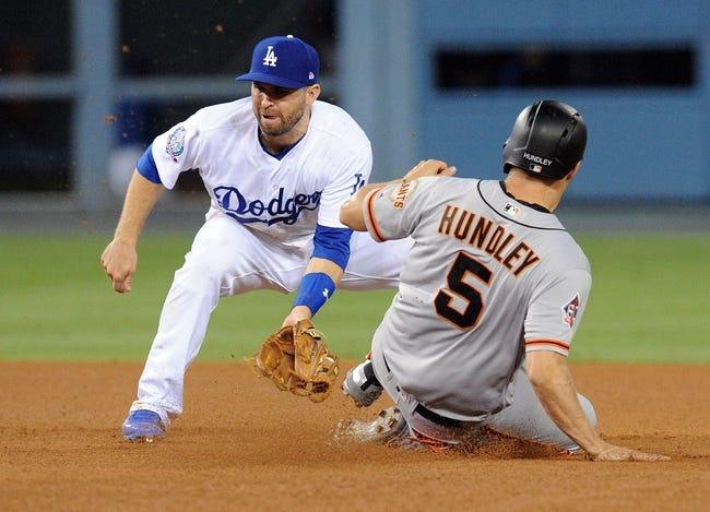 Los Angeles Dodgers vs. San Francisco Giants - 8/15/18 MLB Pick, Odds, and Prediction