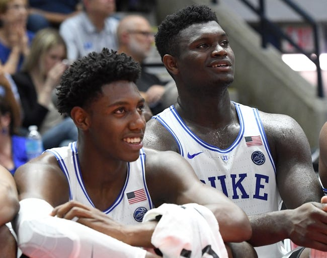 University of Toronto vs. Duke - 8/17/18 College Basketball Pick, Odds, and Prediction