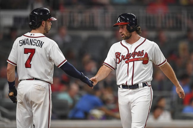 Miami Marlins vs. Atlanta Braves - 8/23/18 MLB Pick, Odds, and Prediction