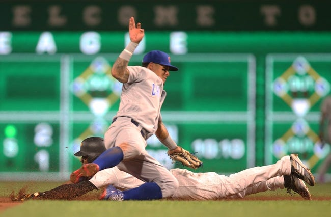 Pittsburgh Pirates vs. Chicago Cubs - 8/17/18 MLB Pick, Odds, and Prediction