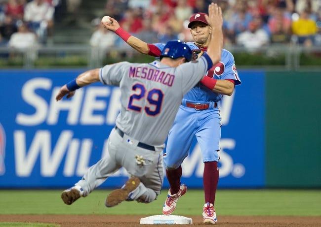 Philadelphia Phillies vs. New York Mets - 8/17/18 MLB Pick, Odds, and Prediction