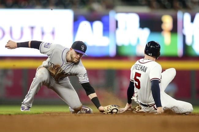 Atlanta Braves vs. Colorado Rockies - 8/17/18 MLB Pick, Odds, and Prediction