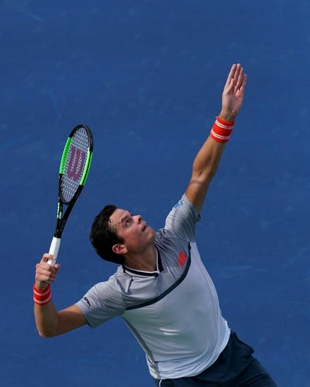 Milos Raonic vs Carlos Berlocq 2018 US Open Tennis Pick, Preview, Odds, Prediction