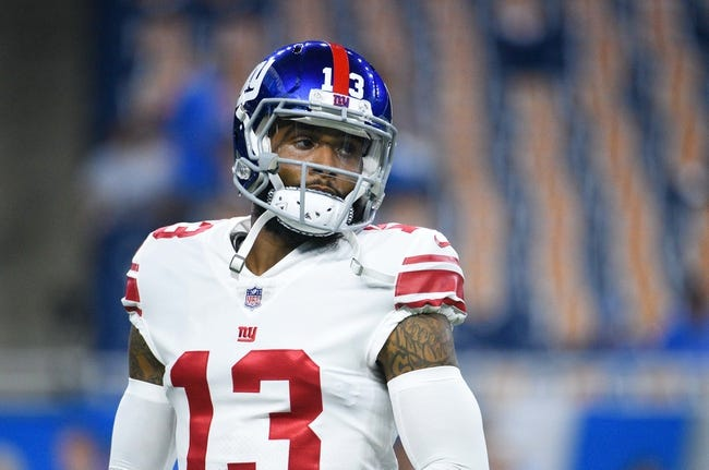 New York Giants vs. Jacksonville Jaguars - 9/9/18 NFL Pick, Odds, and Prediction