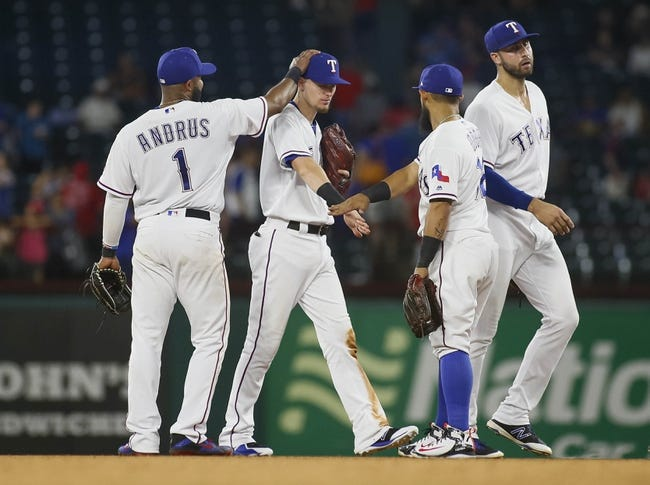 Texas Rangers vs. Los Angeles Angels - 8/18/18 MLB Pick, Odds, and Prediction