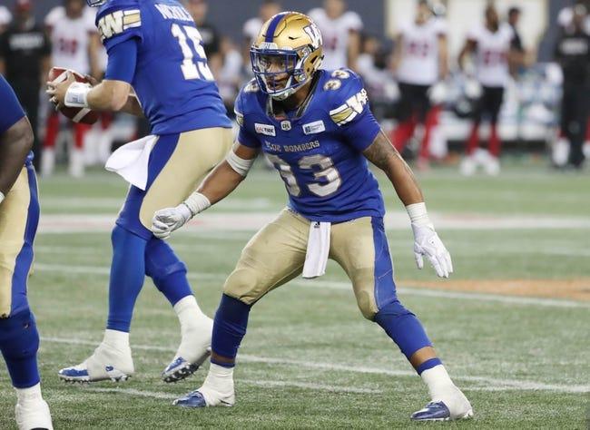 Winnipeg Blue Bombers vs. Saskatchewan Roughriders CFL Pick, Odds, Prediction - 10/13/18