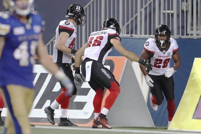 Ottawa Redblacks vs. Hamilton Tiger-Cats CFL Pick, Odds, Prediction - 11/18/18