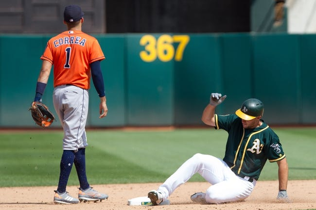 Oakland Athletics vs. Houston Astros - 8/19/18 MLB Pick, Odds, and Prediction