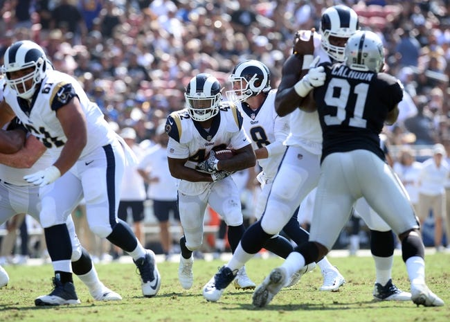 Los Angeles Rams at Oakland Raiders - 9/10/18 NFL Pick, Odds, and Prediction