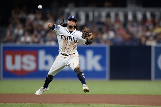 San Diego Padres vs. Arizona Diamondbacks - 8/19/18 MLB Pick, Odds, and Prediction