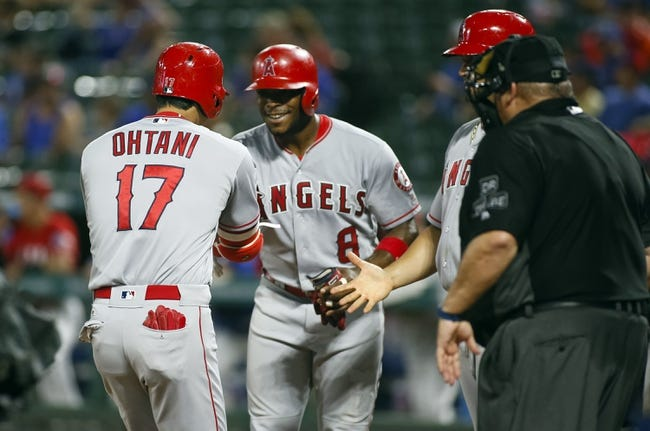 Texas Rangers vs. Los Angeles Angels - 8/19/18 MLB Pick, Odds, and Prediction