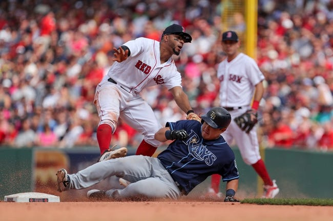 Tampa Bay Rays vs. Boston Red Sox - 8/24/18 MLB Pick, Odds, and Prediction