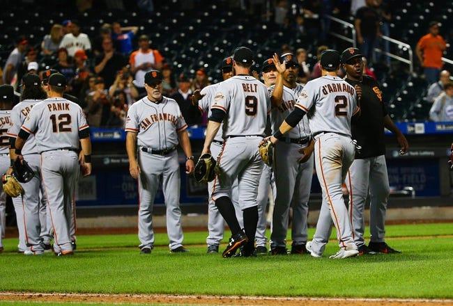 New York Mets vs. San Francisco Giants - 8/21/18 MLB Pick, Odds, and Prediction