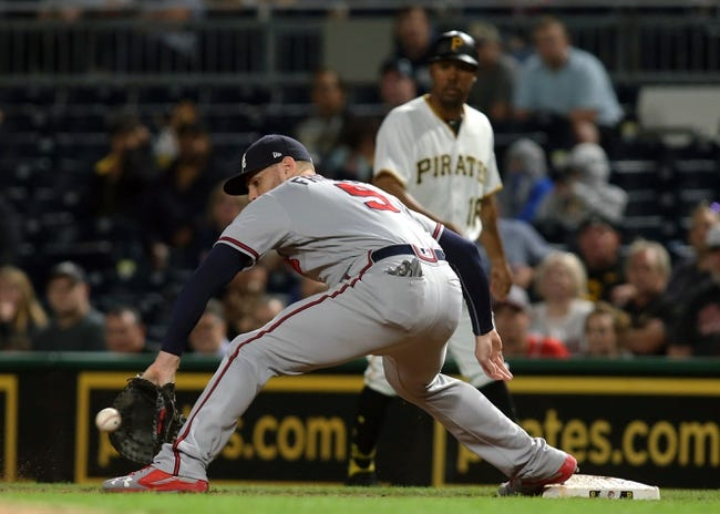 Atlanta Braves vs. Pittsburgh Pirates - 8/31/18 MLB Pick, Odds, and Prediction
