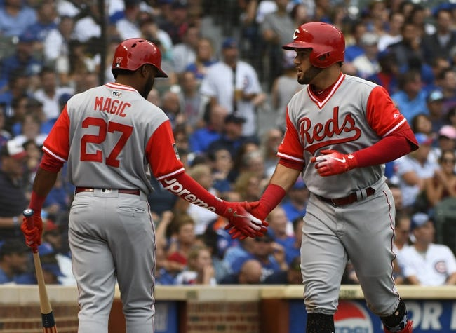 Chicago Cubs vs. Cincinnati Reds - 8/25/18 MLB Pick, Odds, and Prediction