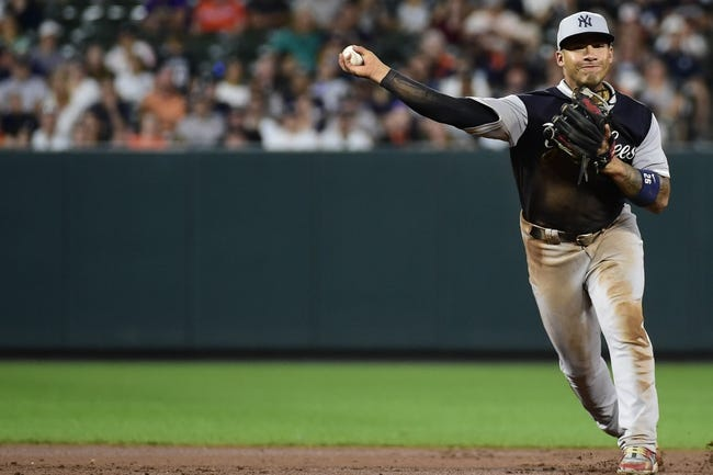 Baltimore Orioles vs. New York Yankees - 8/26/18 MLB Pick, Odds, and Prediction