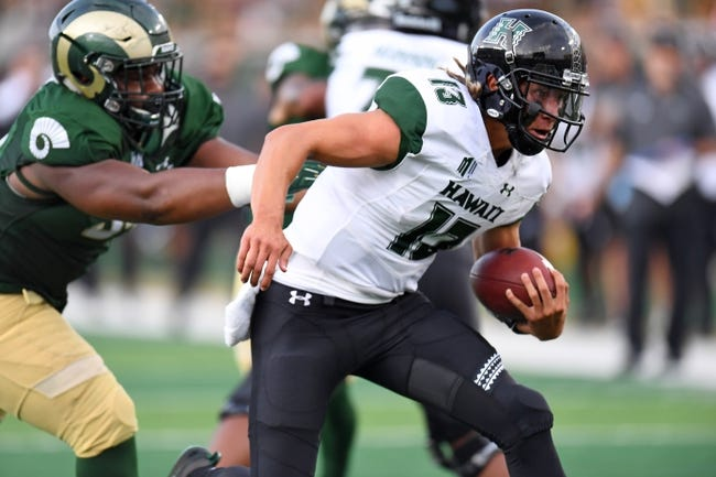 Hawaii vs. Wyoming - 10/7/18 College Football Pick, Odds, and Prediction