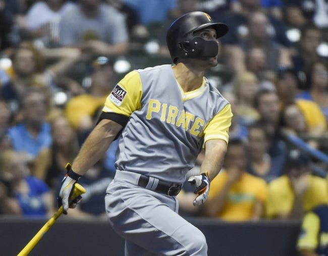 Milwaukee Brewers vs. Pittsburgh Pirates - 8/26/18 MLB Pick, Odds, and Prediction
