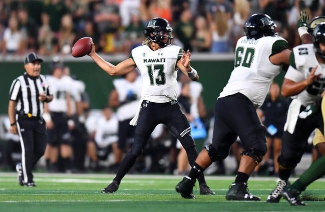 Hawaii vs. Utah State - 11/4/18 College Football Pick, Odds, and Prediction