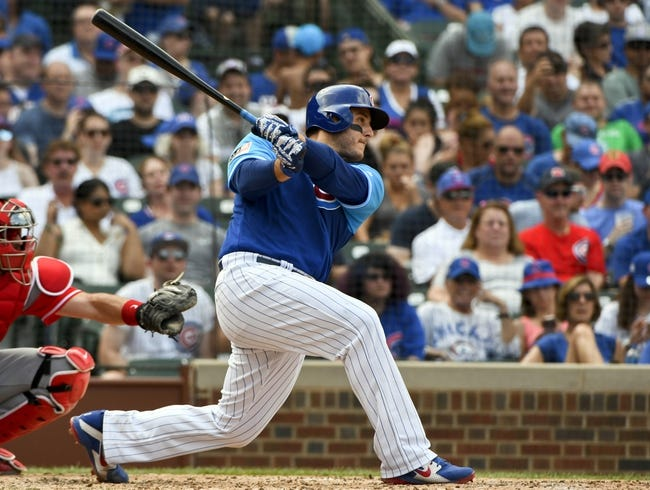 Chicago Cubs vs. Cincinnati Reds - 9/14/18 MLB Pick, Odds, and Prediction