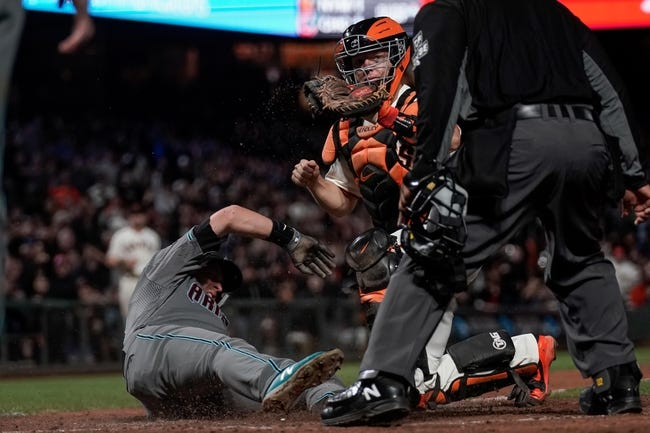 MLB | Arizona Diamondbacks (72-60) at San Francisco Giants (67-67)