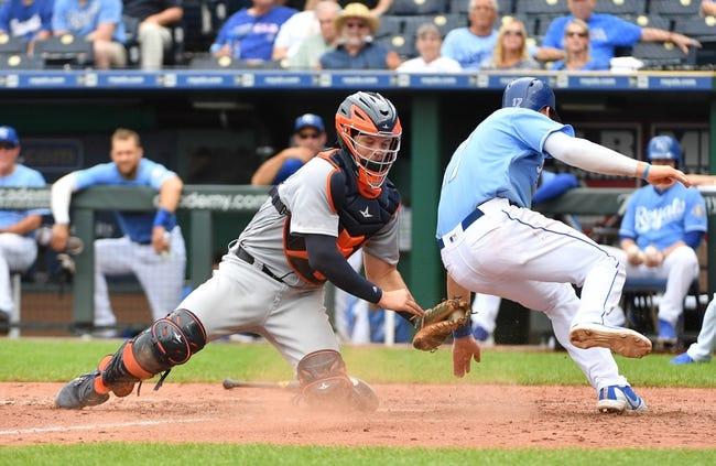MLB | Kansas City Royals (52-99) at Detroit Tigers (61-91)