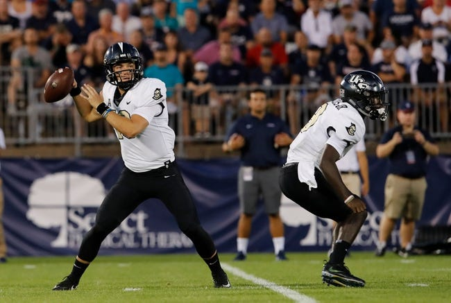 UCF vs. South Carolina State - 9/8/18 College Football Pick, Odds, and Prediction