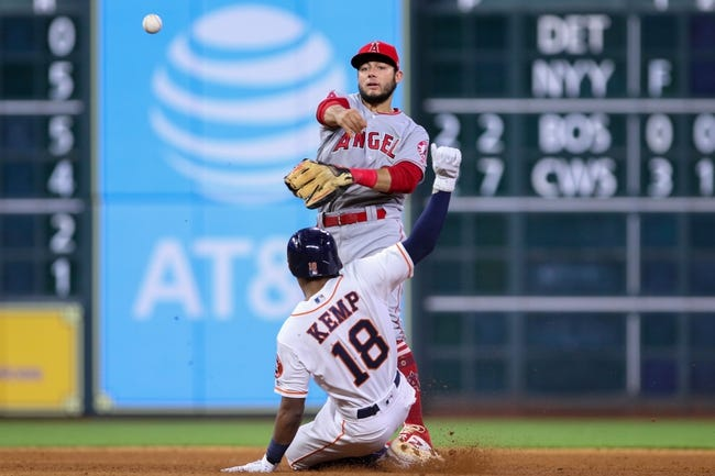 Houston Astros vs. Los Angeles Angels - 8/31/18 MLB Pick, Odds, and Prediction