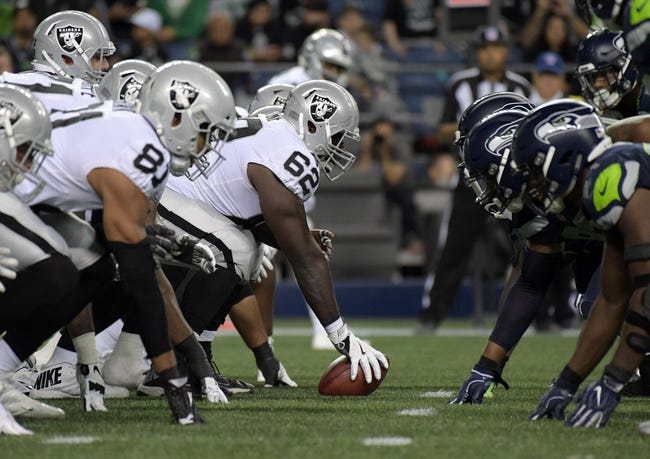 Oakland Raiders vs. Seattle Seahawks - 10/14/18 NFL Pick, Odds, and Prediction