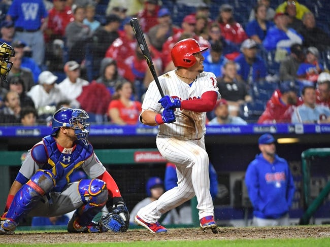 Philadelphia Phillies vs. Chicago Cubs - 9/1/18 MLB Pick, Odds, and Prediction