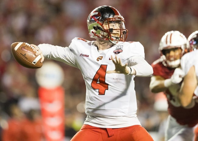 WKU vs. Maine - 9/8/18 College Football Pick, Odds, and Prediction