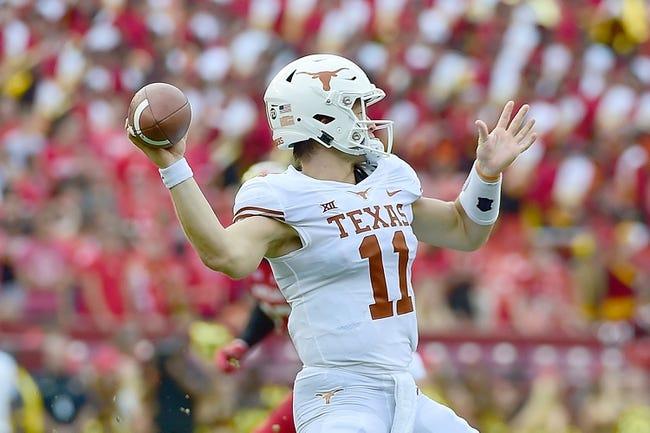Texas vs. Tulsa - 9/8/18 College Football Pick, Odds, and Prediction